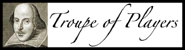 Troupe of Players Logo